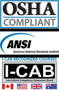 safety compliances osha icons