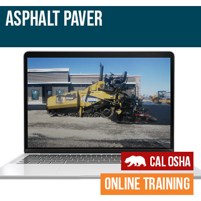 California Asphalt Paver
