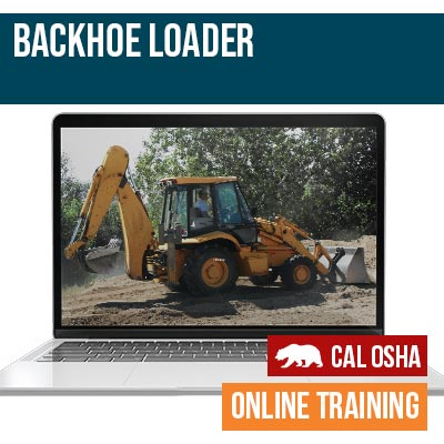 Backhoe Loader California