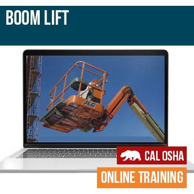 California Boom Lift Training