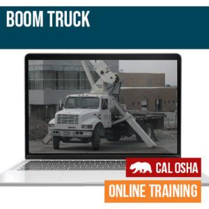 Boom Truck California Training