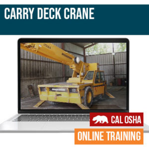 Carry Deck California Training