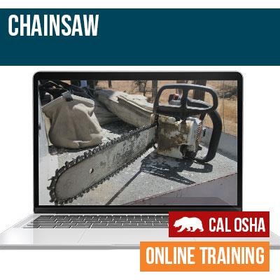 Chainsaw California Training