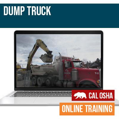 CAL Dump Truck Training