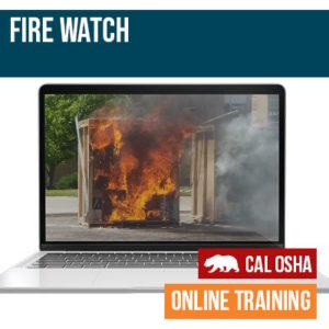 CAL Fire Watch Online Training