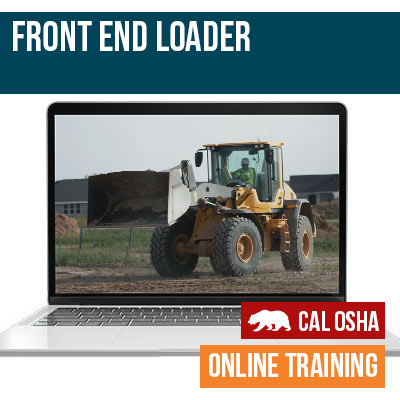 Front End Loader California Training