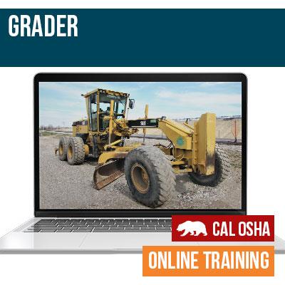 California Grader Online Training