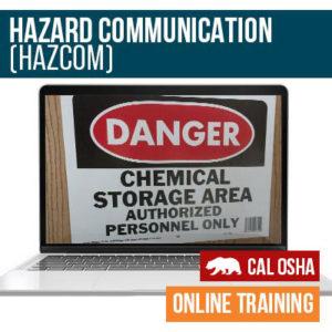 CAL HazCom Online Training