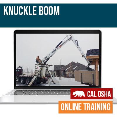 Knuckle Boom Online Training California