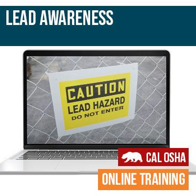 Lead Awareness Online California Training